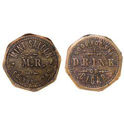 Mint Saloon UT - Colton,c1895 -