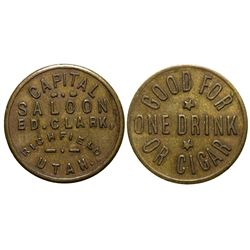 Capital Saloon UT - Highfield,Tokens