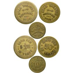 Star Theatre Tokens UT - Hurricane,Tokens