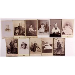 Cabinet Cards UT - Salt Lake City, - c1880s-1900 -