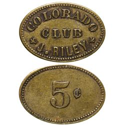 Colorado Club Token UT - Salt Lake City,Tokens