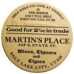 Martin's Place Mirror UT - Salt Lake City, -  -