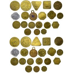 Wisconsin Tokens WI - , -  -