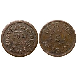 Post Exchange Fort Token WY - D. A. Russell,Laramie County -  -
