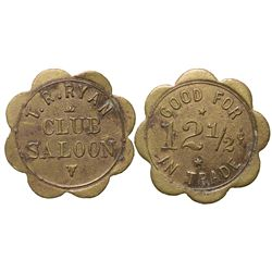 Club Saloon Token WY - Rawlins,Carbon County -  -