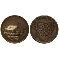Noah's Ark Medal New Zealand - Wellington,numismatic - ingots and coins