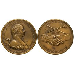 Van Buren Peace Medal numismatic - ingots and coins