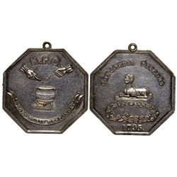 Hasty Pudding Club Medal  - , - 1795 -