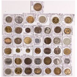 Masonic Pennies and Medals  - , -  -