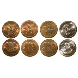 Pony Express Centennial Tokens  - , -  -