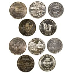 Silver Medallions  - , -  -