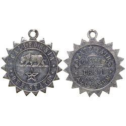 State Fair Medal  - , - 1891 -