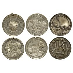 Trio of Medals  - , -  - Tokens