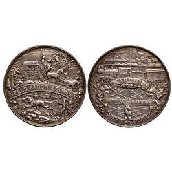 Wells-Fargo So-Called Dollar  - , - 1902 - Tokens
