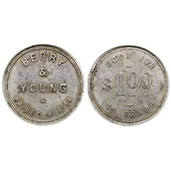 Berry & Young Token AK - Haines,1930 - Tokens
