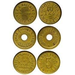 Bisbee Tokens AZ - Bisbee,Yavapai County - 1912-1924 - Tokens