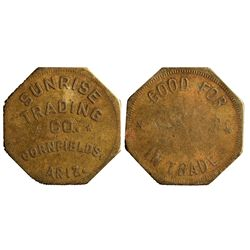 Sunrise Trading Co. Token AZ - Cornfields,Yavapai County -  -