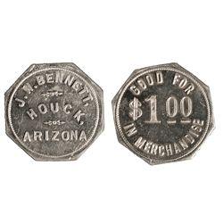 J.W. Bennett Token AZ - Houck,Apache County -  -