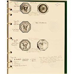 Bill Weber's Manuscript Treatise on $50 Slug Facsimiles CA - , - c2000 -