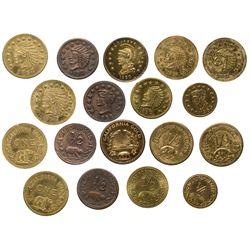 Cal Gold Token Collection CA - , -  -