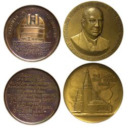 Commemorative Tokens and Medals CA - , -  - Tokens