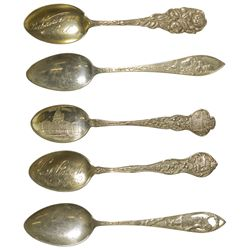 Various Silver Spoons CA - , -  -