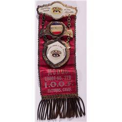 Alturas IOOF Medal CA - Alturas,Modoc County -  -
