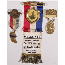 California Oil-Related Ribbons CA - Bakersfield,Kern - 1916-1917 -