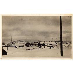 Bodie in Snow Postcard CA - Bodie,Mono County - Americana/Paper/Ephemera