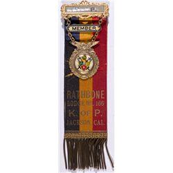 Jackson Knights of Pythias Medal CA - Jackson,Amador County -  -