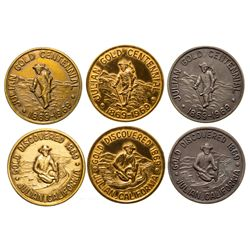 Julian Gold Discovery Medallions CA - Julian,San Diego - 1969 -