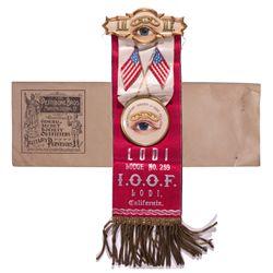 IOOF Medal CA - Lodi, -  -