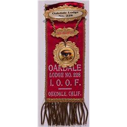 Oakdale IOOF Medal CA - Oakdale,Stanislaus County -  -