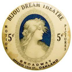 Bijou Dream Theatre Mirror CA - Oakland,Alameda County -  -