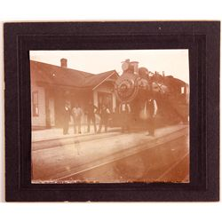 Sparks Railroad Station Photograph NV - Sparks, Washoe County -  -