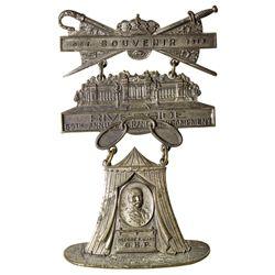 Riverside IOOF Badge CA - Riverside, - 1913 -