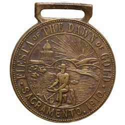 Fiesta of the Dawn of Gold CA - Sacramento, - 1910 -