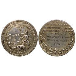 San Bernadino Creamery Medal CA - San Bernardino,Tokens