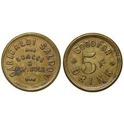 Garibaldi Saloon Token CA - San Francisco,Tokens
