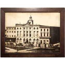 Historic City Hall Photograph CA - San Francisco, - 1856 -