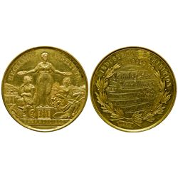 Rare Mechanics Institute Hawley Brothers Gold Medal CA - San Francisco, - 1884 -