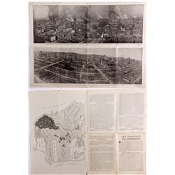 San Francisco Earthquake Folding Photographs CA - San Francisco,San Francisco County - April 1906 -