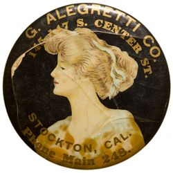 G. Alegretti & Co. Mirror CA - Stockton,San Joaquin County -  -