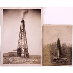 Colorado Gas Well Photos CO - Fort Collins, Larimer, - c1900 -
