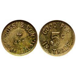 Rossi & Son CO - Trinidad,Las Animas County - c1928 -