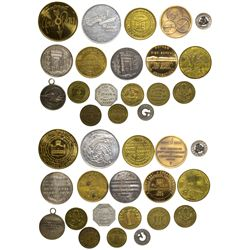 Connecticut Tokens CT - , -  -