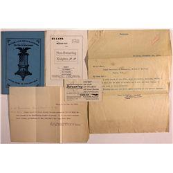 Non-Swearing Knights Fraternal Organization Documents Dakota Noth - , -  - 2012aug - General America