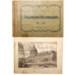 Illustrated Washington Book DC - Washington, - 1876 -