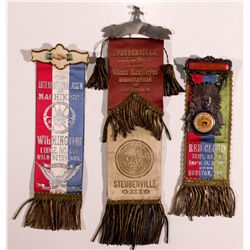 Fraternal and Union Parade Ribbons DE - , -  -