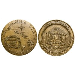 Hawaii Statehood Medal HI - Tokens